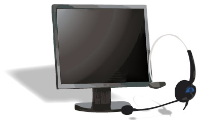 Headset and Computer